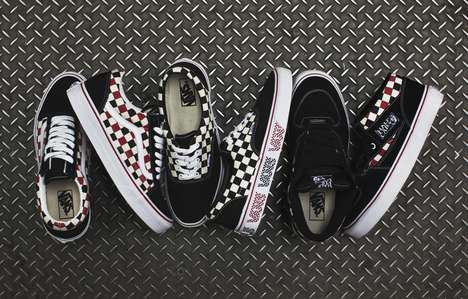 Checkered Skateboard Sneakers