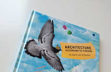 Avian Architecture Books - Stella Gurney's Architecture According to Pigeons Shows Bird Perspectives