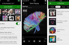 Offline Music Gaming Devices - Xbox Music App Details and Updates Were Released at CES 2014