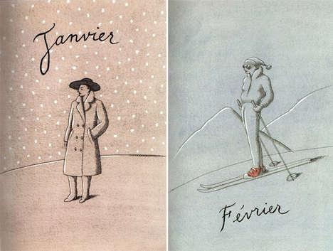 Fashionable Calendar Designs