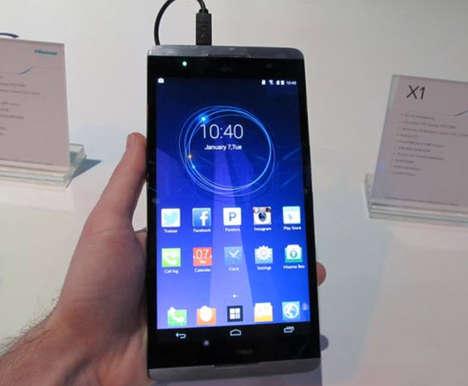 Tablet-Mimicking Smartphones