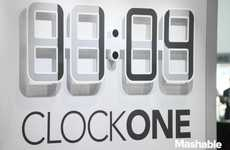 Electronic Ink Timepieces - Twelve24 Introduced its E-ink Clock at CES 2014