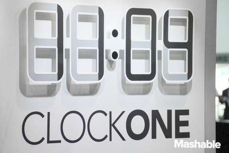 Electronic Ink Timepieces