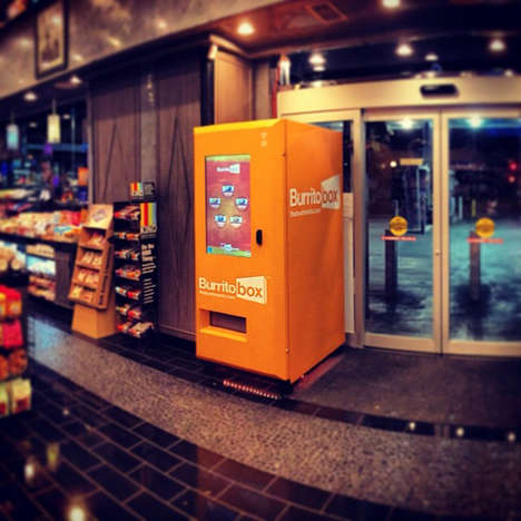Taco Shop Vending Machines - The Burritobox Sells Mexican Food Without the Middleman