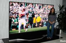 Record Breaking Large TVs - The 120-Inch Vizio 4k TV is Attracting a Lot of Eyes at CES 2014