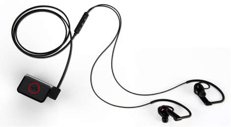 Heart Rate-Tracking Earphones