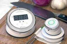 Digital Heat-Monitoring Cooking Aids