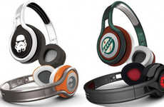 Sci-Fi Rapper Heaphones - 50 Cent's SMS Audio Headphones Partner with Star Wars at CES 2014