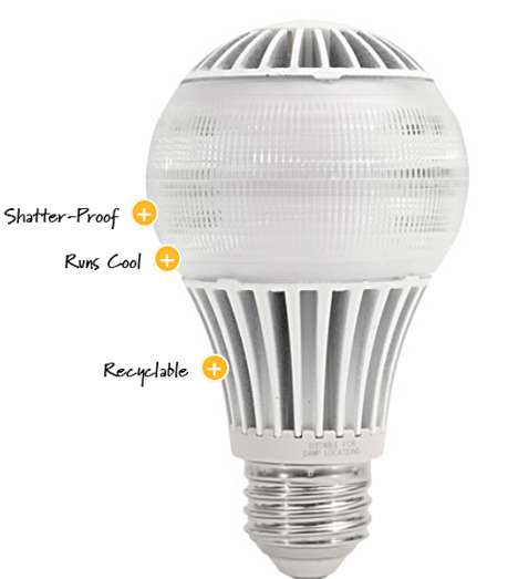 Sleep Correcting Light Bulbs - The Definity Digital Good Night Bulb Was Released at CES 2014