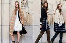 60s Blanket-Infused Fashions - The Chloe Pre-Fall 2014 Collection Brings Back the Classic Blanket