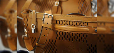 Sleek Leather Male Accessories