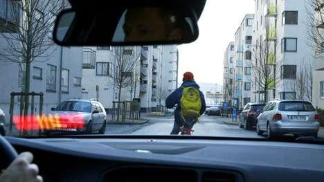 Audible In-Car Biker Warnings