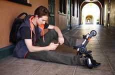 Attachable Modern Roller Skates - Roller Blade the Way Nature Intended with Cardiff Skates