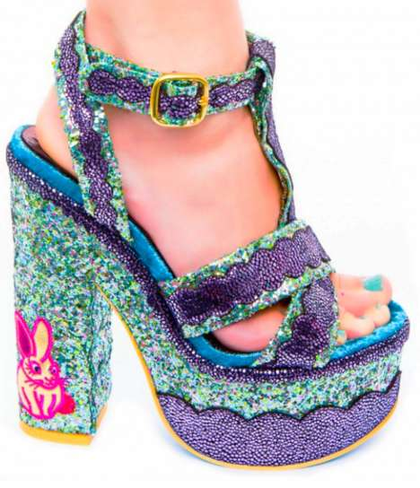 Bedazzled Bunny Shoes