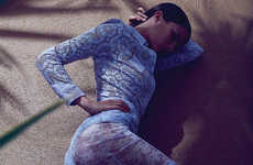 Languid Lounging Editorials