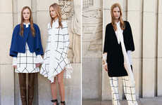 Mod 60s Fashion - The Latest Chloe Fall Collection is Inspired by the Brand's Vintage Blanket Jacket