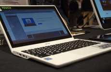 Ultra Thin Touchpad Laptops - The Acer C720P-2600 Lays Low at CES 2014