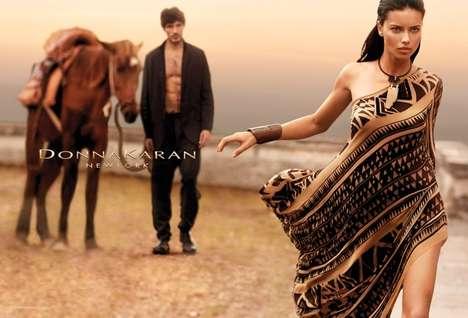 Seductive Tribal Fashion Ads