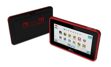 Inutitive Childrens Learning Tablets - The New Kurio 4G Kids Tablet Was Revealed at 2014 CES