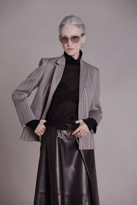 Classically Mature Model Lookbooks
