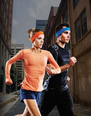 Music-Pumping Workout Headbands - The AcousticSheep RunPhones Were Unveiled at CES 2014