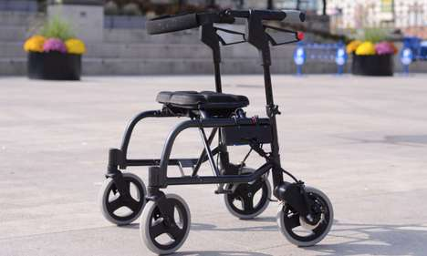 Safety-Improving Mobility Aids - The Sentry Scientific Walker is Turning Heads at CES 2014