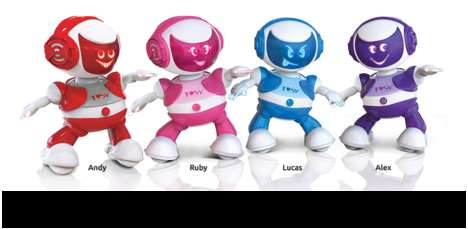 Breaking Dancing Robot Toys - DiscoRobo Busts a Move at CES 2014