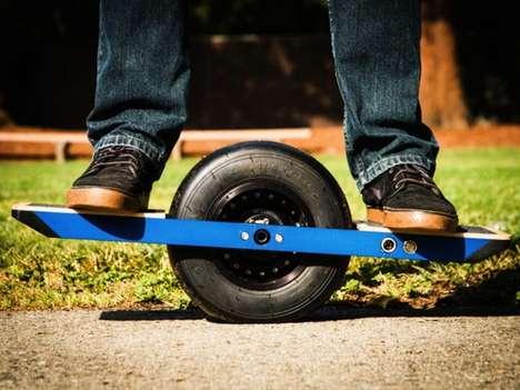 Self-Blancing Skateboards