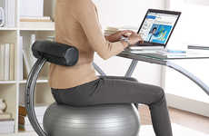 Core Muscle-Strenghtening Chairs - These Chairs Offer a Workout While on the Job