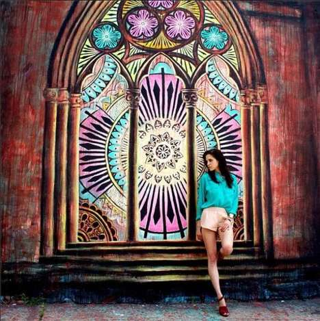 Museum Matching Fashion Photography