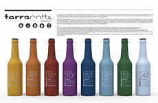 Ceramic Bottle Branding - Zago TerraCotta Beer Packaging Was Designed to Communicate Craftsmanship