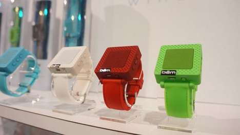 Wireless Wristband Speakers