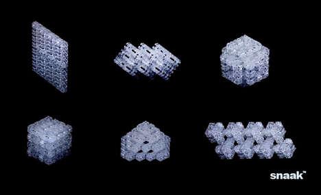 Interlocking Tactile 3D Puzzles