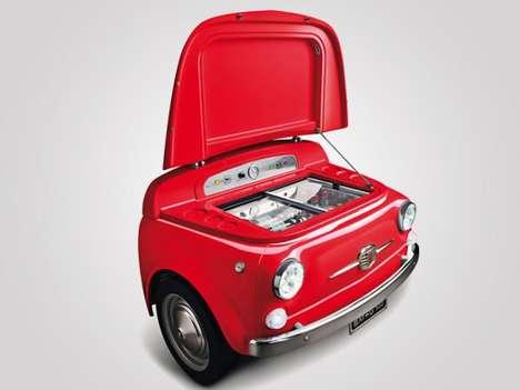 Retro Car-Styled Fridges