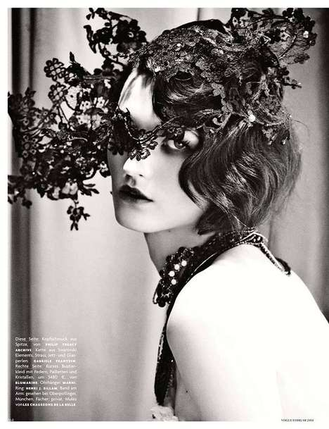 Sultry Flapper Girl Editorials