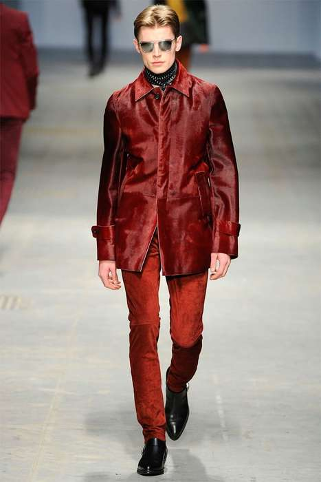 Flamboyant Rocker-Inspired Menswear