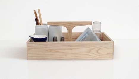 Workbench-Inspired Storage