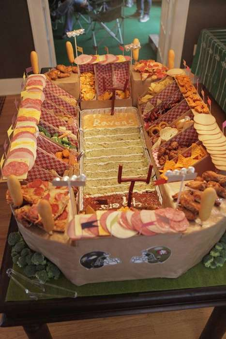Epic DIY Football-Watching Foods - The Super Bowl Snack Stadium Fuels Ultimate NFL Fans