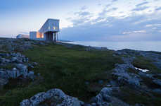 Stilted Modern Hotels - The Fogo Island Inn is a Luxury Getaway on the Rugged Coast of Canada