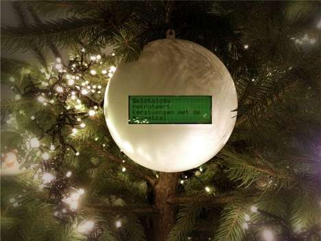 Social Media Christmas Ornaments