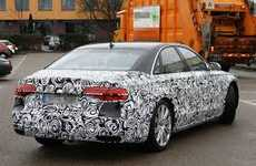 Lavish Massage-Giving Cars - The 2015 Audi A8 Made a Classy Debut at the Detroit Auto Show 2014