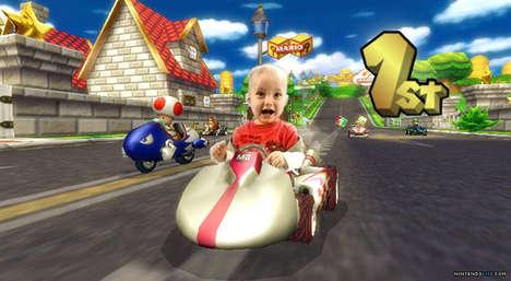 Baby Video Game Mashups