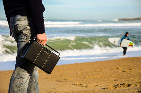 Briefcase-Resembling Speakers