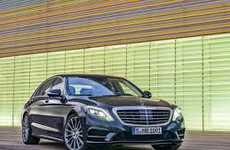 Luxe Emergency-Detecting Cars - The Mercedes-Benz S600 2014 Boasts Lavish & Driver-Assisted Features