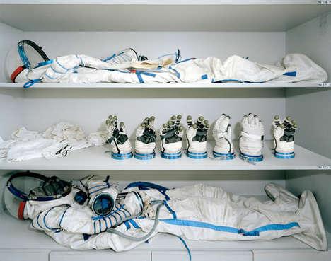 Stylized Space Station Photography