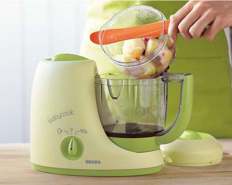 Versitile Infant Food Cookers - The Beaba Babycook Cooks in More Than One Way