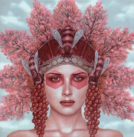 Vivdly Exotic Headdress Art