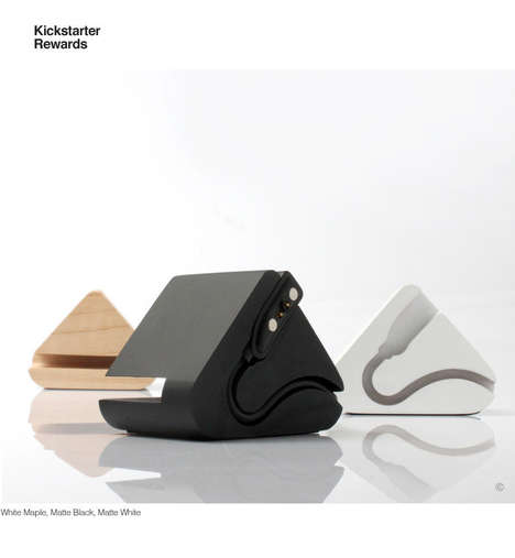 Triangular Smartwatch Docking Stations