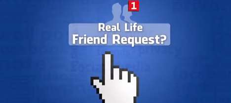 Online Friendship-Testing Stunts - Greg Benson Goes Out to Visit His Real Life Facebook Friends
