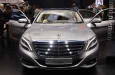Futuristic Relaxing Luxury Cars - The 2014 Mercedes-Benz S600 Drew Eyes at NAIAS 2014